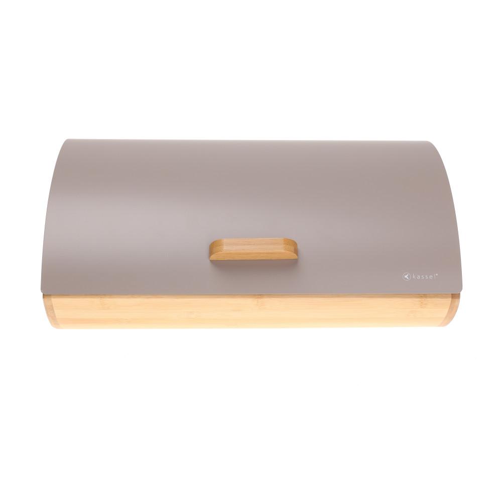 Chlebak stalowy szary 93510
